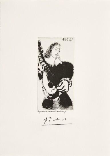 PABLO PICASSO   LA CÉLESTINE: LA SÉRÉNADE (B. 1599; BA. 1615)
