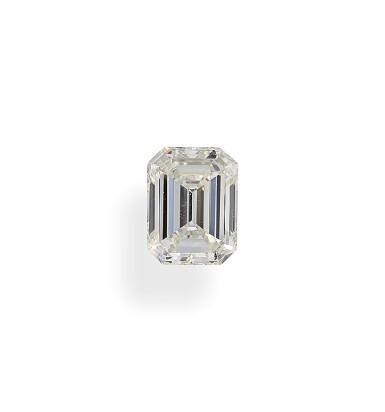 A 1.07 Carat Emerald-Cut Diamond, J Color, VS1 Clarity