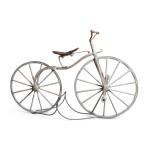 WOODEN BONE SHAKER BICYCLE