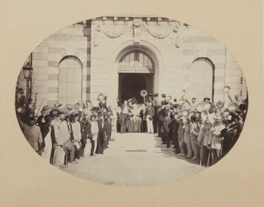 View 1. Thumbnail of Lot 53. The Salute to the Emperor (Imperial Asylum at Vincennes, 15 August).