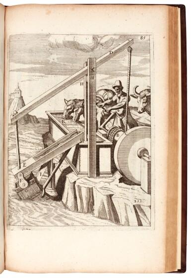 View 1. Thumbnail of Lot 4. Böckler | Theatrum machinarum novum, 1686.
