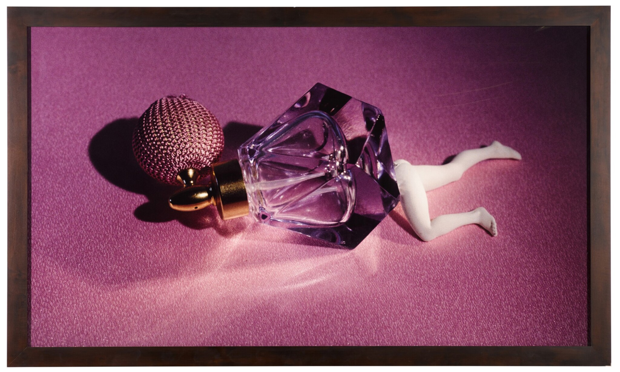 View 1 of Lot 52. Lying Perfume Bottle (Lavender).