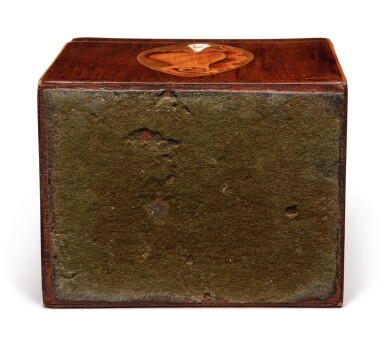 Five English Tea Caddies and Boxes, late 18th/19th century