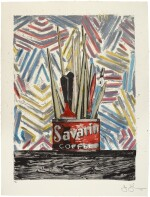 JASPER JOHNS | SAVARIN (ULAE 183)