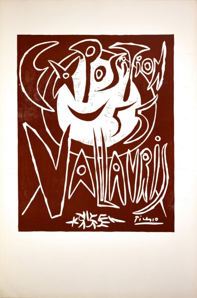 PABLO PICASSO | EXPOSITION 55 VALLAURIS (BLOCH 1268; BAER 1032; CZWIKLITZER 17; PICASSO PROJECT L-011)