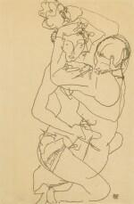 Paar Im Umarmung (Couple embracing)