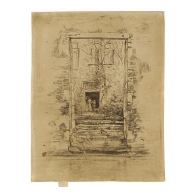 JAMES MCNEILL WHISTLER | THE GARDEN (KENNEDY 210; GLASGOW 194)