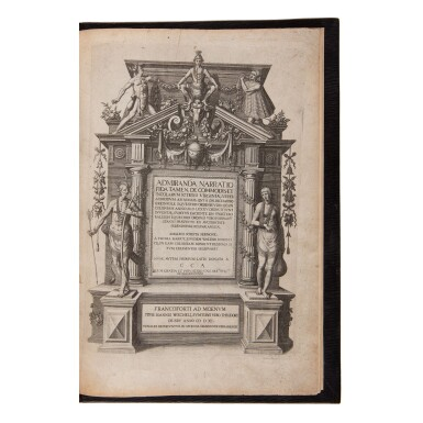 View 1. Thumbnail of Lot 132. De Bry, Theodor, and Johann Theodor and Johann Israel de Bry   A magnificent set of the Great American Voyages in Latin.