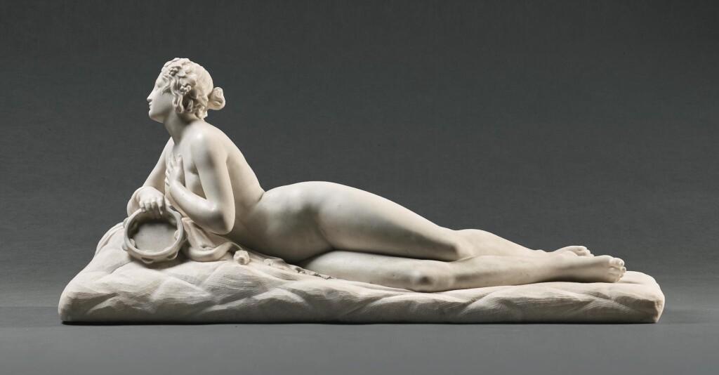 WORKSHOP OF LORENZO BARTOLINI (1777-1850), ITALIAN, 19TH CENTURY | DIRCE, OR BACCHANTE