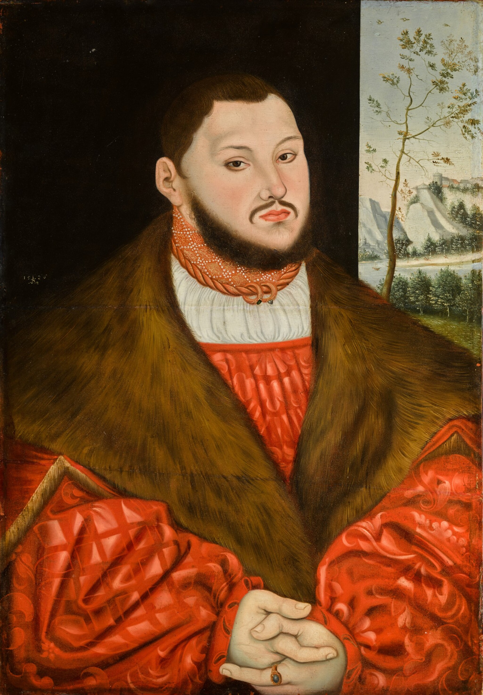 View 1 of Lot 112. Portrait of Johann Friedrich the Magnanimous, Elector of Saxony (1503-54).