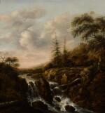 KLAES MOLENAER | A waterfall in a mountainous river landscape