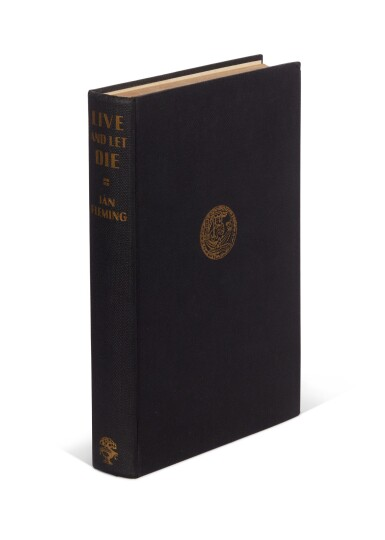 View 4. Thumbnail of Lot 11. FLEMING   Live and Let Die, 1954, first edition, presentation copy inscribed to Winston Churchill.