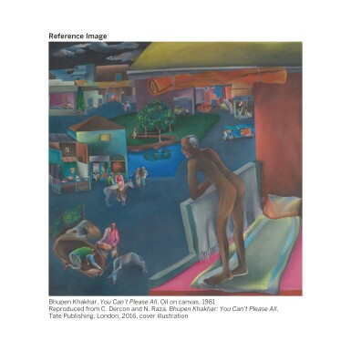 BHUPEN KHAKHAR | Two Men in Benares