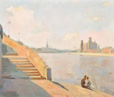 SOLOMON BORISOVICH NIKRITIN   Moscow River