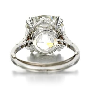 View 3. Thumbnail of Lot 39. Diamond ring, circa 1910.