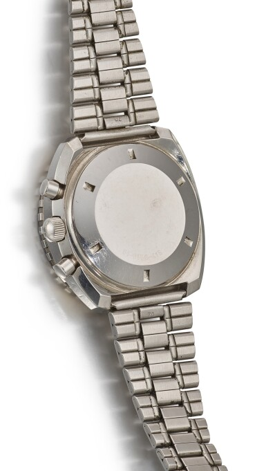 View 3. Thumbnail of Lot 116. ZENITH | EL PRIMERO SUBSEA, REFERENCE 01-0150-415 A STAINLESS STEEL CHRONOGRAPH WRISTWATCH WITH DATE AND BRACELET, CIRCA 1970.