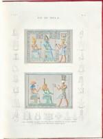 Description de l'Égypte, housed in a custom made display cabinet