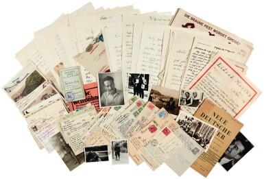E.E. Kisch. Archive of autograph correspondence, printed publications and other items, c.1917-1948