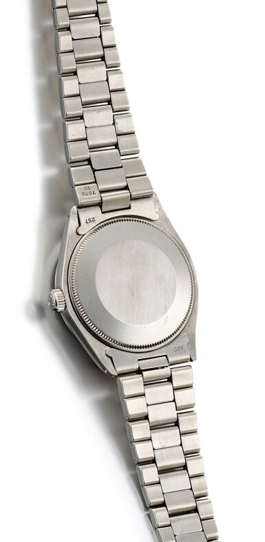 View 3. Thumbnail of Lot 8086. ROLEX   EXPLORER, REFERENCE 5500, A STAINLESS STEEL WRISTWATCH WITH BRACELET, CIRCA 1971.