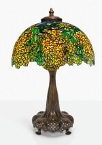 "TIFFANY STUDIOS | ""LABURNUM"" TABLE LAMP"