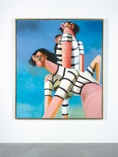 View 1. Thumbnail of Lot 30. GEORGE CONDO |  ANTIPODAL REUNION.