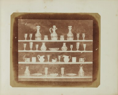 View 11. Thumbnail of Lot 11. William Henry Fox Talbot's Gifts to his Sister: Horatia Gaisford's Collection of Photographs and Ephemera.