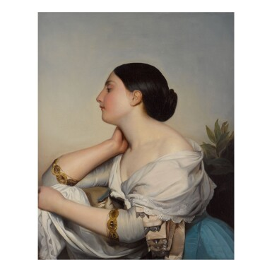 CONTINENTAL SCHOOL | PORTRAIT OF A LADY