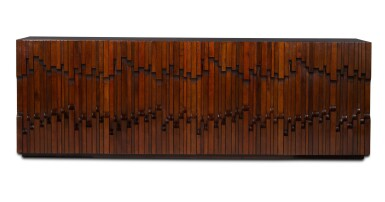 View 2. Thumbnail of Lot 187. LUCIANO FRIGERIO | SIDEBOARD FROM THE NORMAN SERIES.