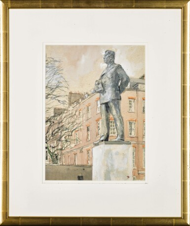View 2. Thumbnail of Lot 285. The Statue to Commemorate The Earl Mountbatten of Burma.