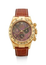 ROLEX | COSMOGRAPH DAYTONA, REFERENCE 116518, A YELLOW GOLD CHRONOGRAPH WRISTWATCH WITH MOTHER-OF-PEARL DIAL, CIRCA 2004