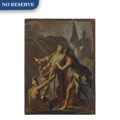 View 1. Thumbnail of Lot 590. The disrobing of Christ.