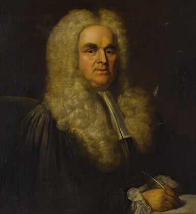 View 2. Thumbnail of Lot 109. Portrait of a lawyer, bust-length.