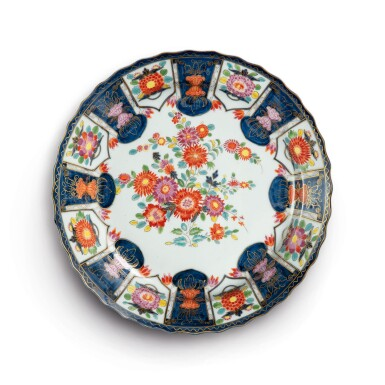 A MEISSEN IMARI LARGE CHARGER CIRCA 1735