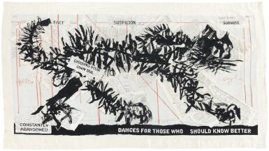 WILLIAM KENTRIDGE | SCRIBBLE CAT (CHASING YOUR OWN TAIL III)