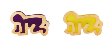 Keith Haring, Two brooches [Deux broches]