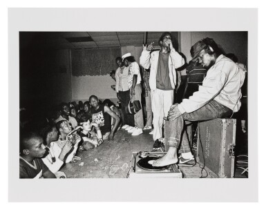 """View 4. Thumbnail of Lot 26. JOHN NORDELL   """"RUSTY THE 'TOEJAMMER' CONCERT PHOTOS"""", BOSTON, 1985."""