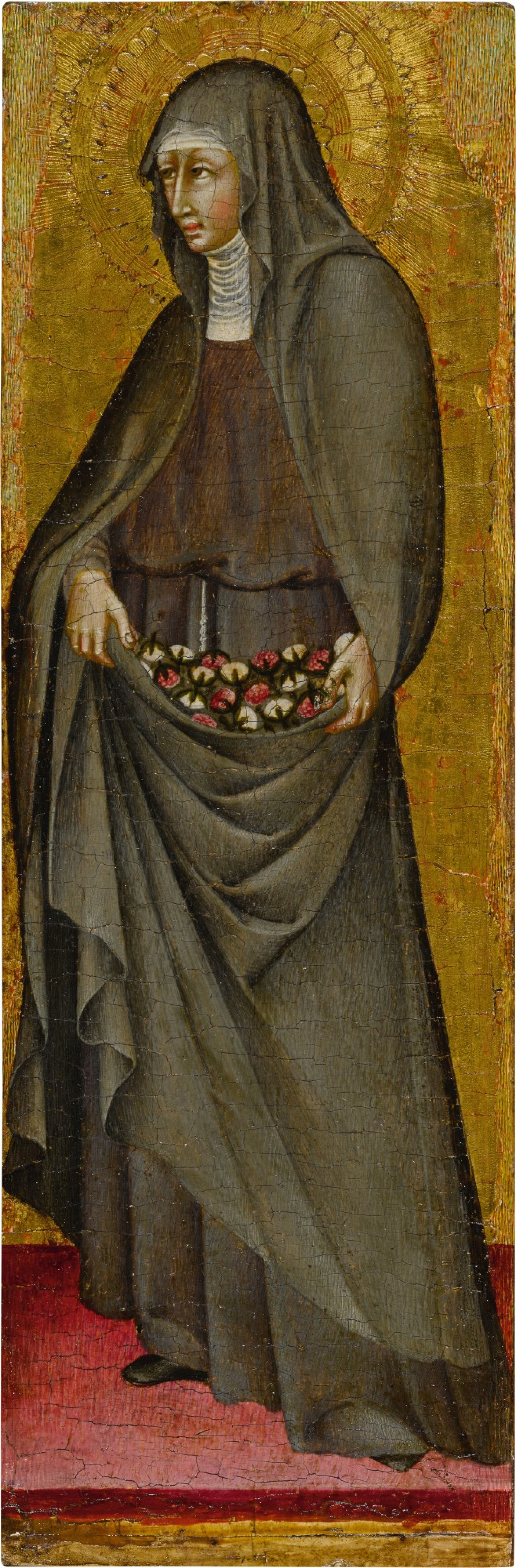 View full screen - View 1 of Lot 14. St. Elizabeth of Hungary.