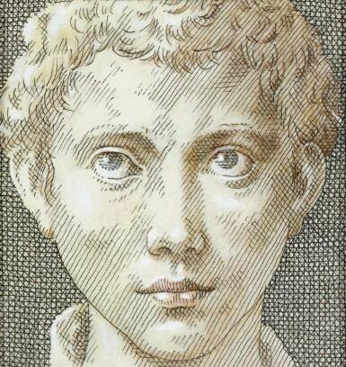 View 2. Thumbnail of Lot 119. Tête de jeune homme, d'après Parmigianino.