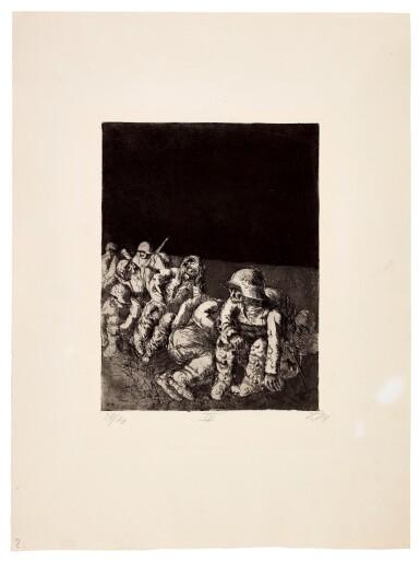 View 14. Thumbnail of Lot 19. Der Krieg (K. 70 - 119).