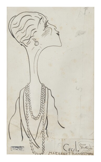 CECIL BEATON | MARGARET BANNERMAN & MRS. VULPY: A PAIR OF WORKS