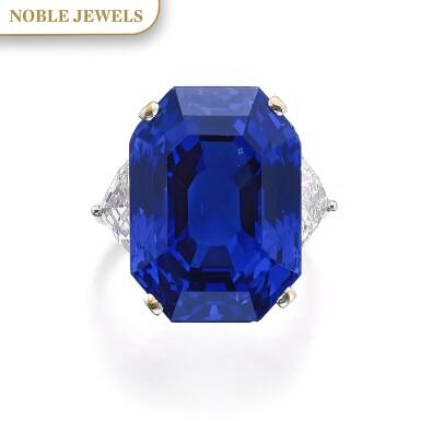 View 1. Thumbnail of Lot 169. Bulgari | Important Sapphire and diamond ring | 寶格麗 | 藍寶石配鑽石戒指.