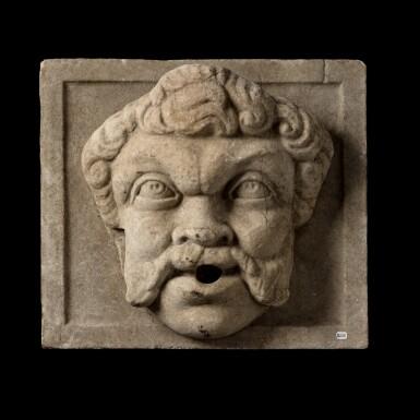 View 1. Thumbnail of Lot 139. Italian, 18th century | Fountain Mask.