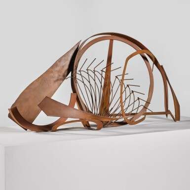 View 1. Thumbnail of Lot 740. SIR ANTHONY CARO, R.A.   TABLE PIECE CCCXLI.