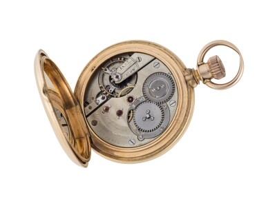 View 5. Thumbnail of Lot 78. LOUIS AUDEMARS | YELLOW GOLD OPEN-FACED WATCH CIRCA 1910.