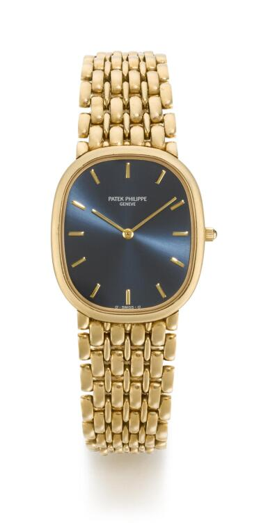 PATEK PHILIPPE | GOLDEN ELLIPSE, REFERENCE 3738/122 YELLOW GOLD BRACELET WATCH, MADE IN 1993