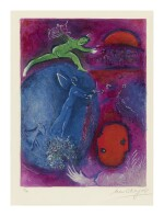MARC CHAGALL | LAMON'S AND DRYAS'S DREAMS (M. 311; SEE C. BKS. 46)