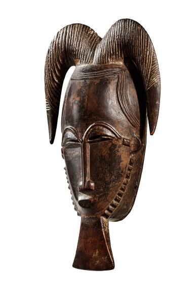 View 3. Thumbnail of Lot 23. Masque, Baulé, Côte d'Ivoire   Baule mask, Côte d'Ivoire     .