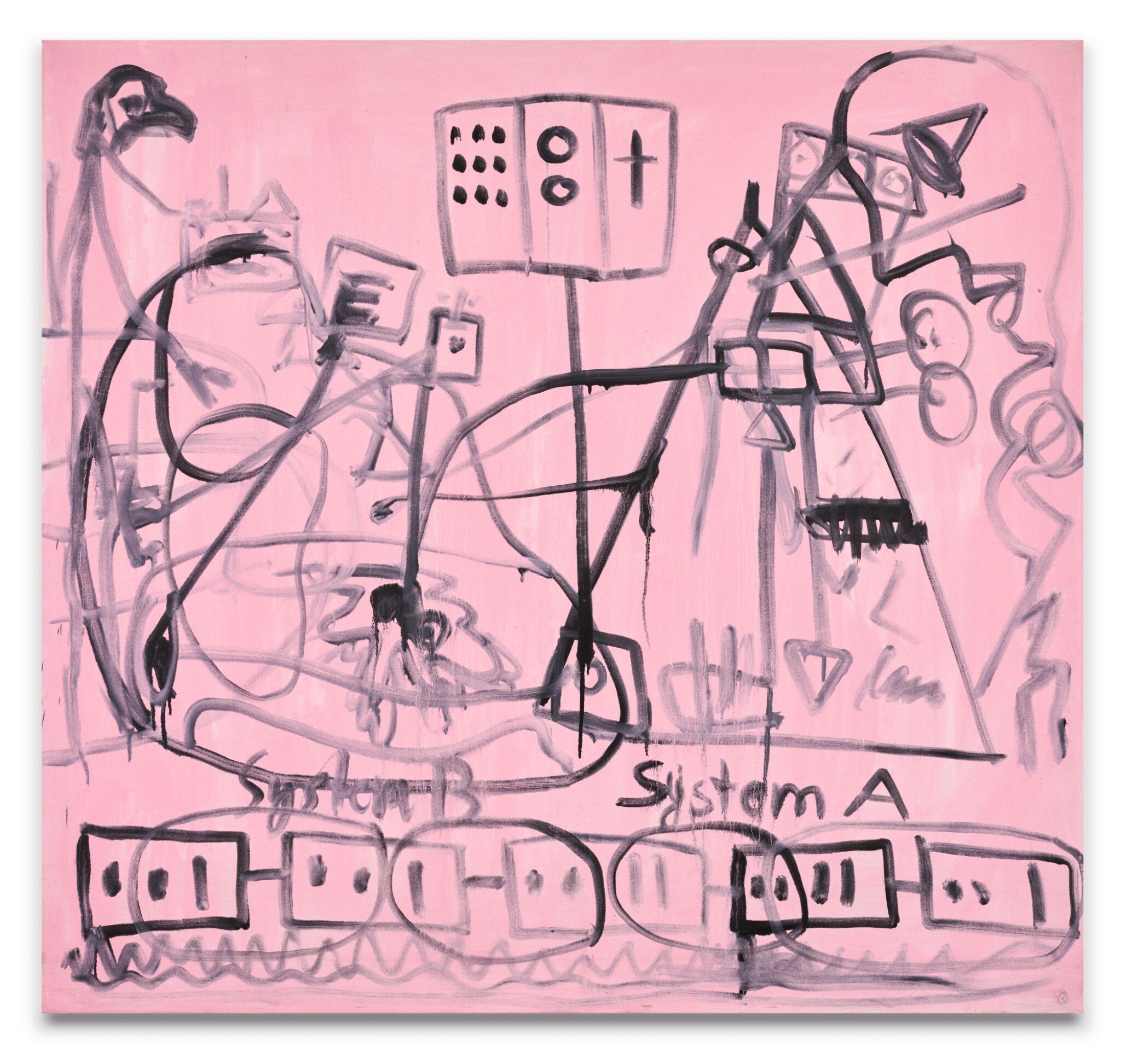 View 1 of Lot 17. A.R. PENCK | SYSTEM B – SYSTEM A.
