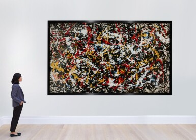 View 4. Thumbnail of Lot 21. Convergence: Number 10, after Jackson Pollock (from Pictures of Pigment).