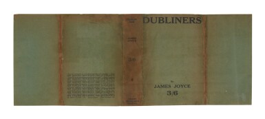View 2. Thumbnail of Lot 118. Joyce, James   First published edition of Dubliners in the very rare dust-jacket.